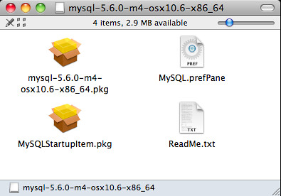 MySQL Server Package