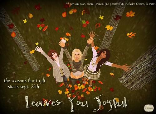 Leaves You Joyful- Pose Set