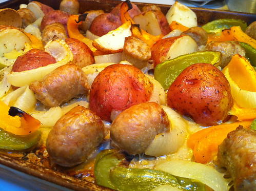 Italian Sausage & Potato Roast