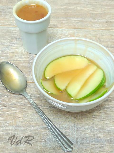 Pommes au caramel et au beurre salé