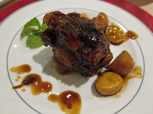 Steamed Oxtail with Longan and Honey