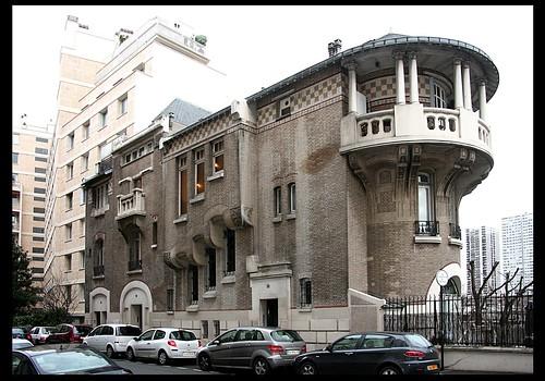 Hôtel du peintre Alexandre Nozal [1911]- Paris XVIe
