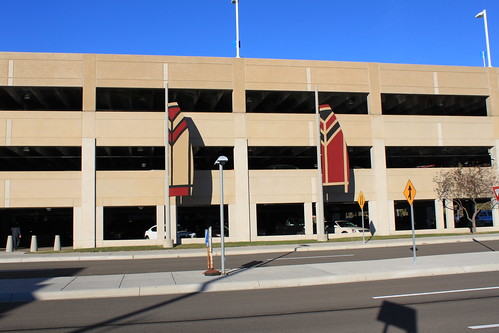 Madison, Wisconsin - Frank Lloyd Wright At Airport Parking