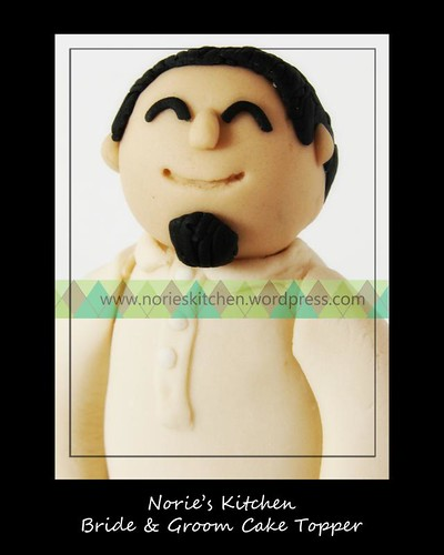 Norie's Kitchen - Groom Cake Topper