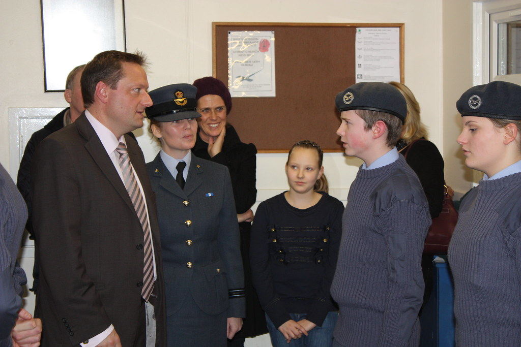 Cadets, 1466 Squadron (Holmfirth) ATC