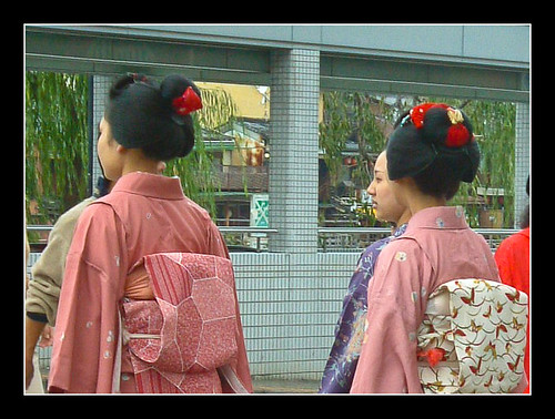 Peinados de una maiko
