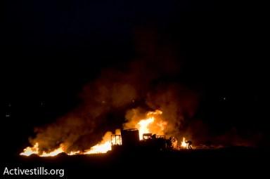 al araqeeb village razed