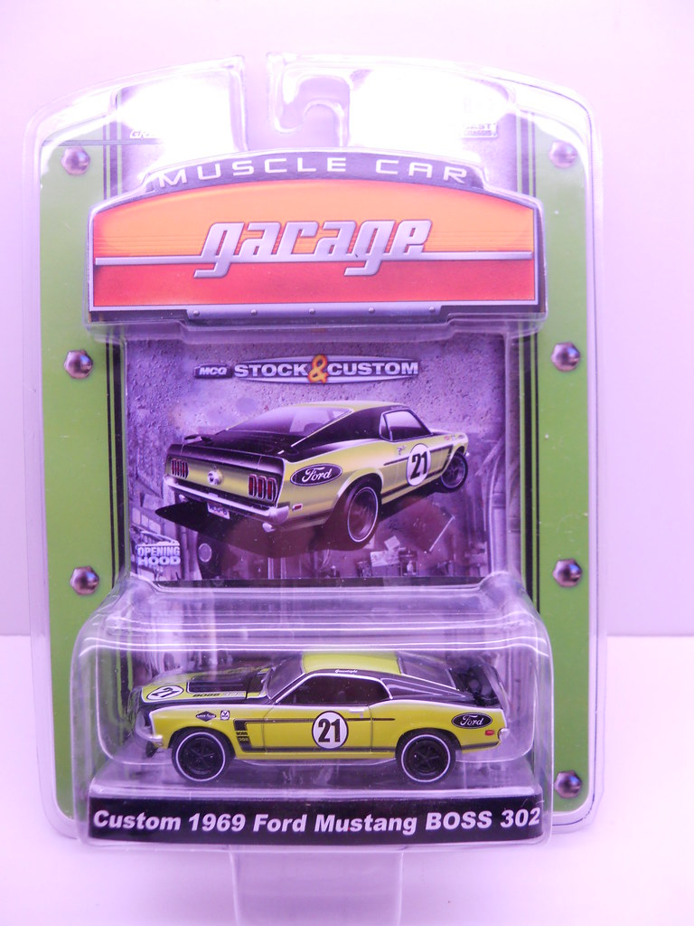 gl custom 1969 ford mustang BOSS 302 (1)