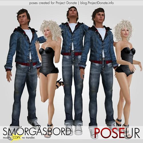 POSEUR - smorgasbord minipack