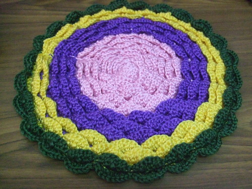 Petal piece (top) in four colours