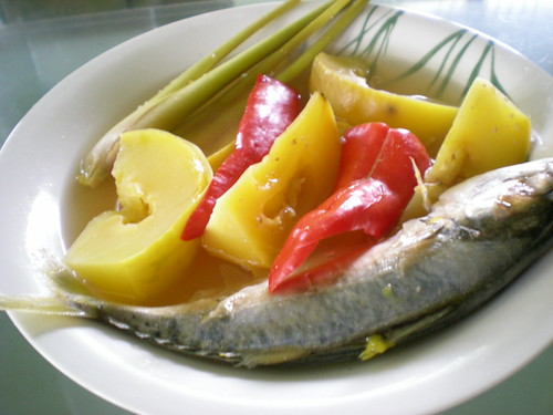STP's fish with terung Dayak