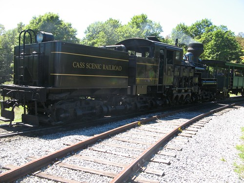 Cass Scenic Railroad Shay #11 at Whittaker Station, Cass, WV