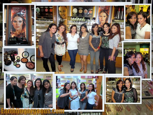 Beauty Bloggers Cam Hamming at The Body Shop