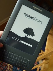booting up the Kindle 3