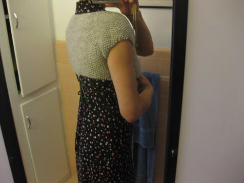 Sedum sweater WIP