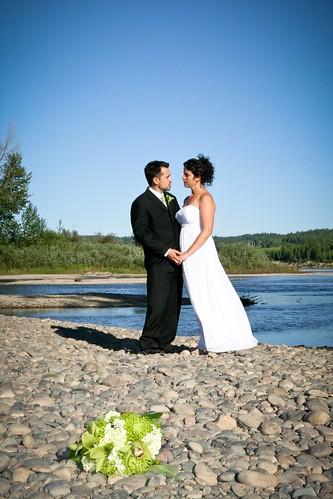 Newlyweds at the Nechako River