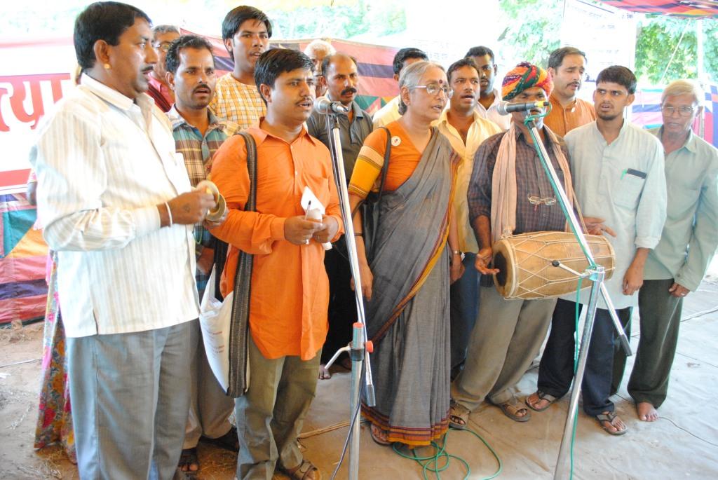 Pics from the satyagraha - 2 & 3 Oct 2010 - 8