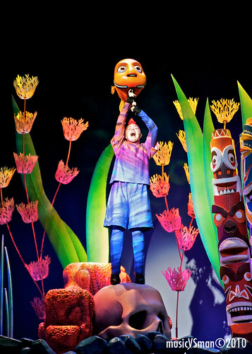 Finding Nemo: The Musical @ Animal Kingdom