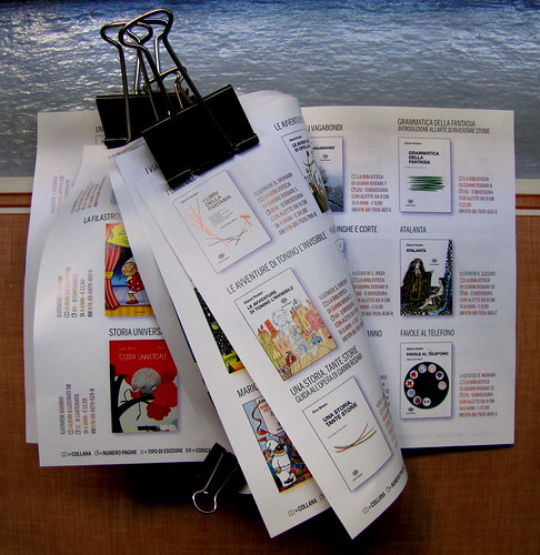 Gianni Rodari / Catalogo disponibilità ottobre 2010 (materiale pubblicitario), © 2010 Edizioni EL, San Dorligo della Valle, [p. 6-7-9-11-12] (part.), 1