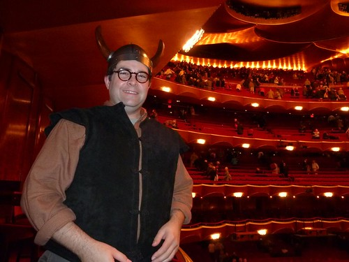 Horned Helmet for Wagner at the MetOpera