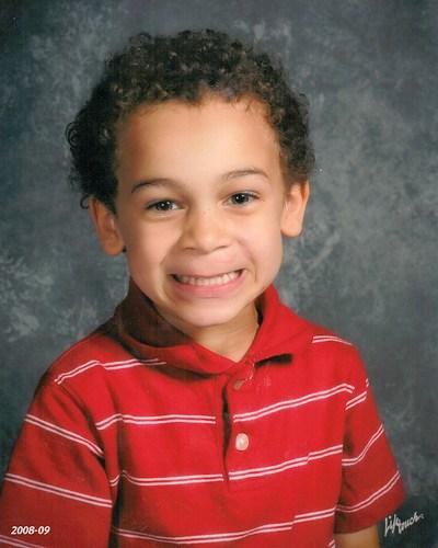 Aidan's Kindergarten Picture