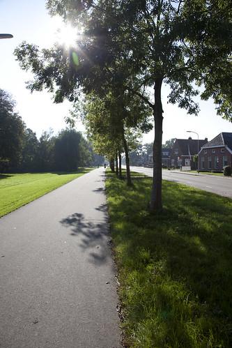 First real Dutch bike path
