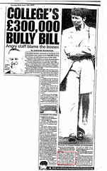 College's 300K Bully Bill Sunday Mail June 15 2003