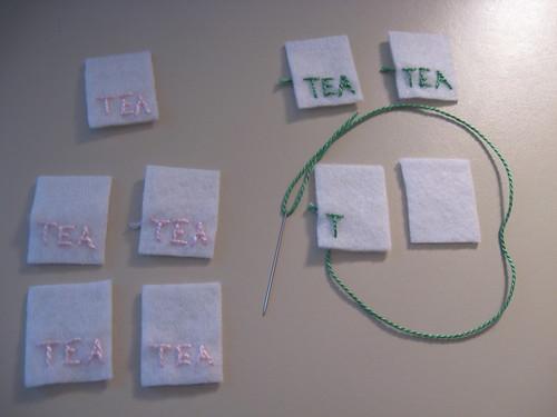 wonderland tea tags