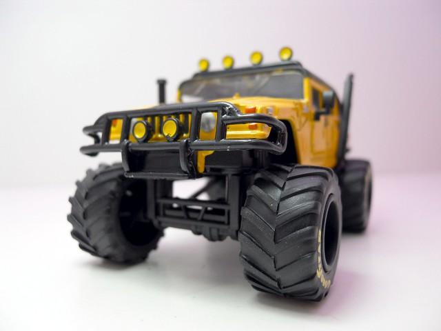 jada toys bigtime 4 wheelin 2006 hummer h1 (3)