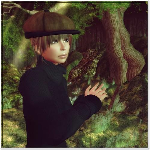 Hatpins - Paintbox Poorboy in Chocolate Dark Velvet