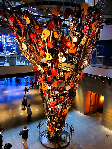 Tower Of Guitars, 2nd Floor View