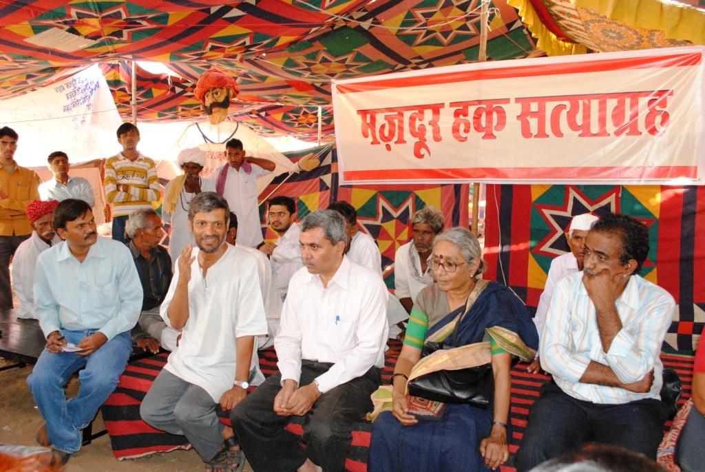 Pics from the satyagraha - 2 & 3 Oct 2010 - 10