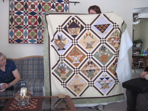 Lisa's basket quilt