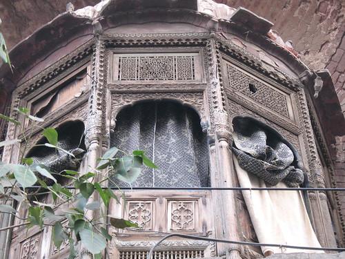 The jharoka.