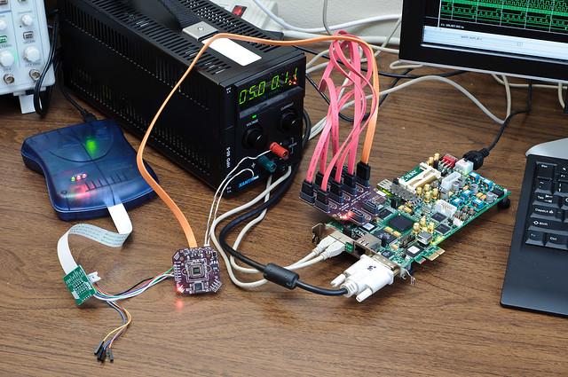 MT9V032 camera to FPGA interface development