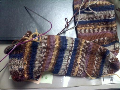 Sock 2 in progress