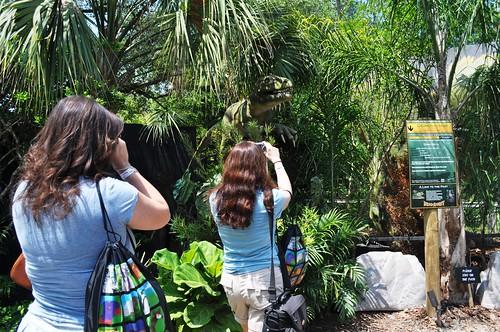 TBEX Members Enjoy DinoQuest, Lowry Park Zoo, Tampa, Fla., April 10, 2011
