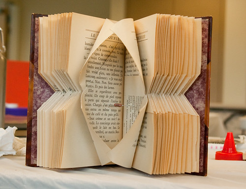 Altered Book Workshop- Seattle Center for Book Arts-6