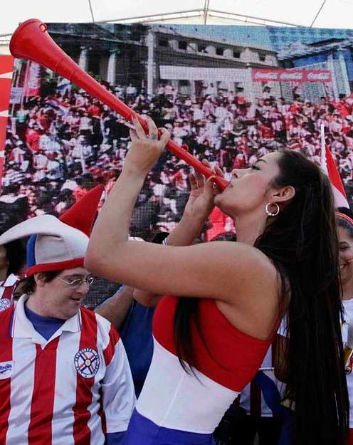Larissa e a Vuvuzela