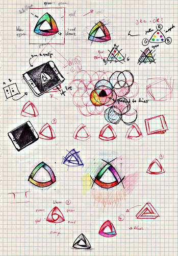 Kaleidoscope Origin Sketch