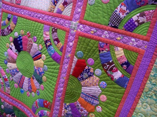 "Vermont Quilt Festival - ""Orphan Blossoms"" - Timna Tarr"
