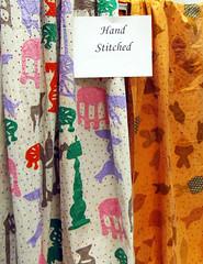 Kaplan's Fabrics - Hand-stitched cotton
