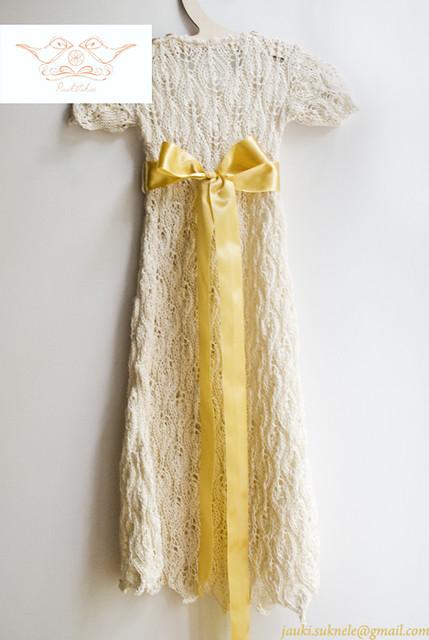 Agotos krikšto suknelė
