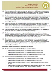 Decision 89-2010 SLCC evidence of threats not provided to information commissioner