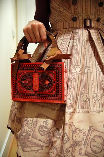 Handmade book bag
