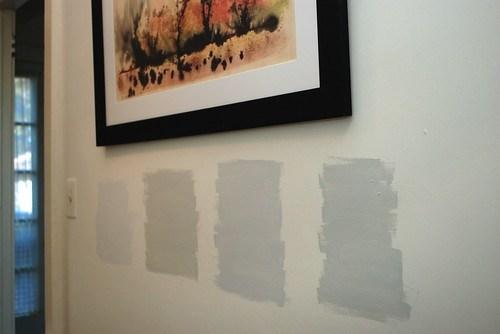 4 paint samples