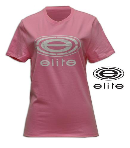 February 2011 Elite Store pink white logo girls