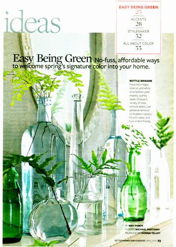 glass bottle vignette