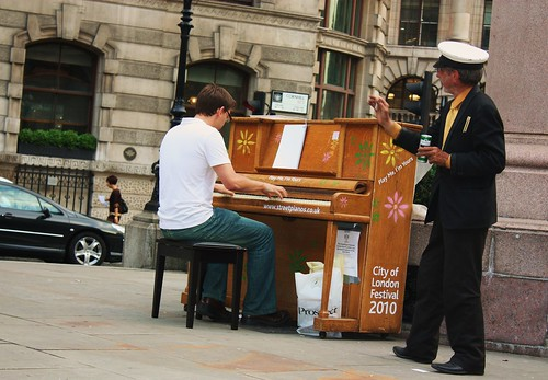 Street Piano - Royal Exchange 2
