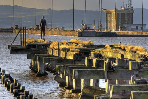 Anthony Gormley at Ocean Terminal